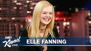Elle Fanning on Crazy 21st Birthday & Working with Sister Dakota