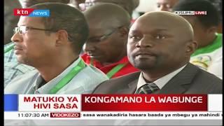 Kongamano la wabunge laendelea Kisumu
