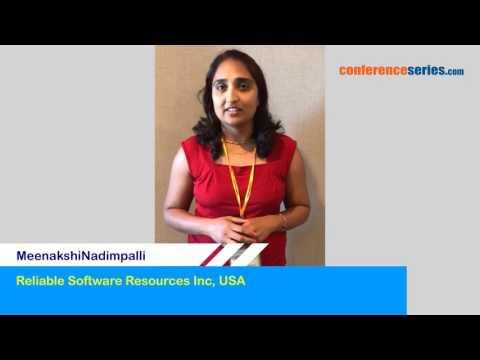 MeenakshiNadimpalli, Reliable Software Resources Inc, USA