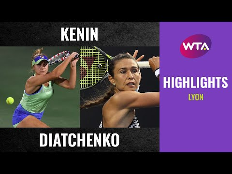 Sofia Kenin vs. Vitalia Diatchenko | 2020 Lyon Second Round | WTA Highlights