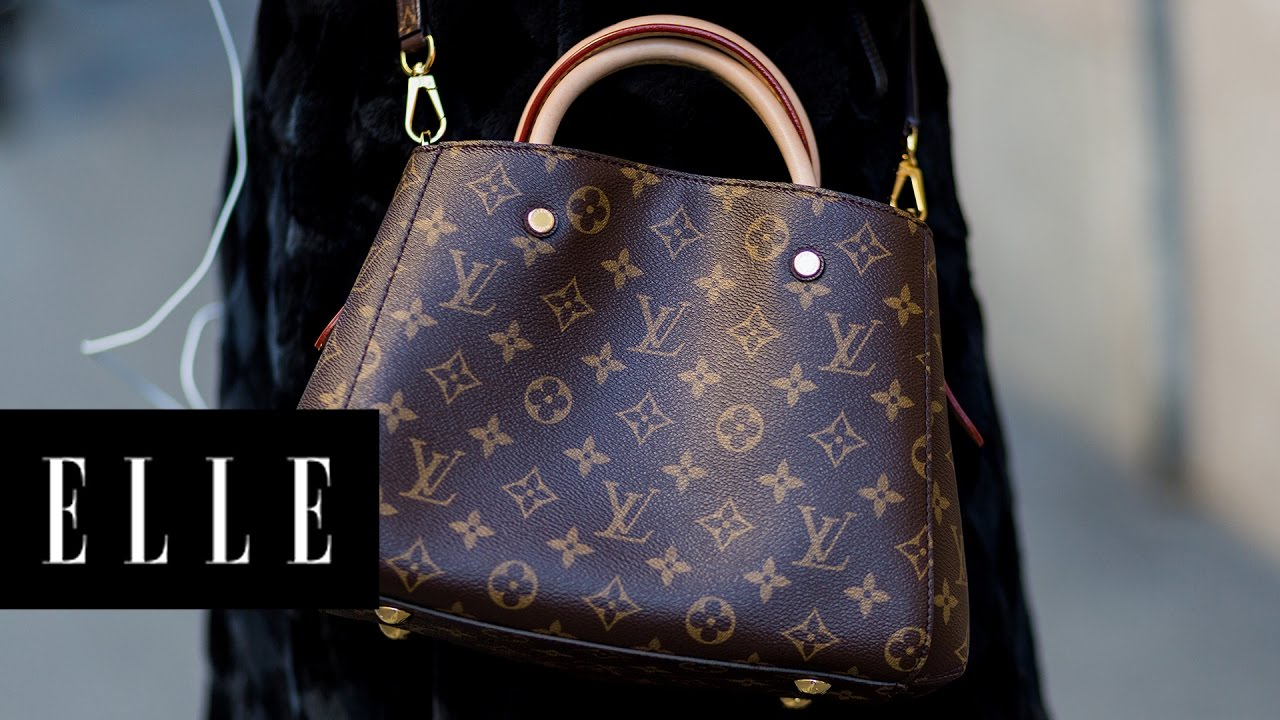 f00d1e2b2 London is Now the Cheapest Place to Buy a Louis Vuitton Handbag | ELLE -  YouTube