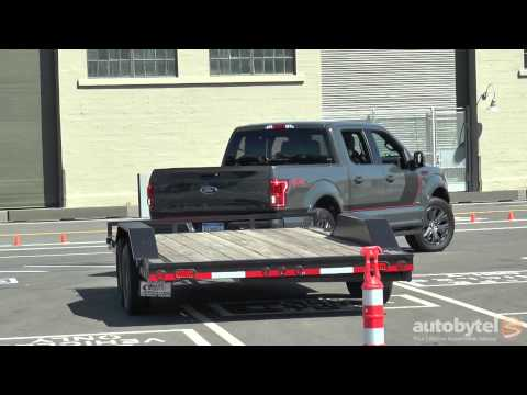 2016 Ford F-150 Pro Trailer Back-Up Assist Demo