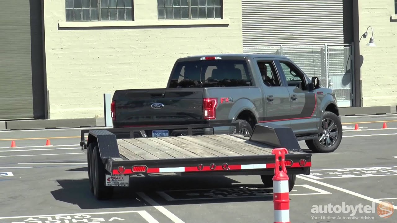 Ford Trailer Backup Assist >> 2016 Ford F-150 Pro Trailer Back-Up Assist Demo - YouTube