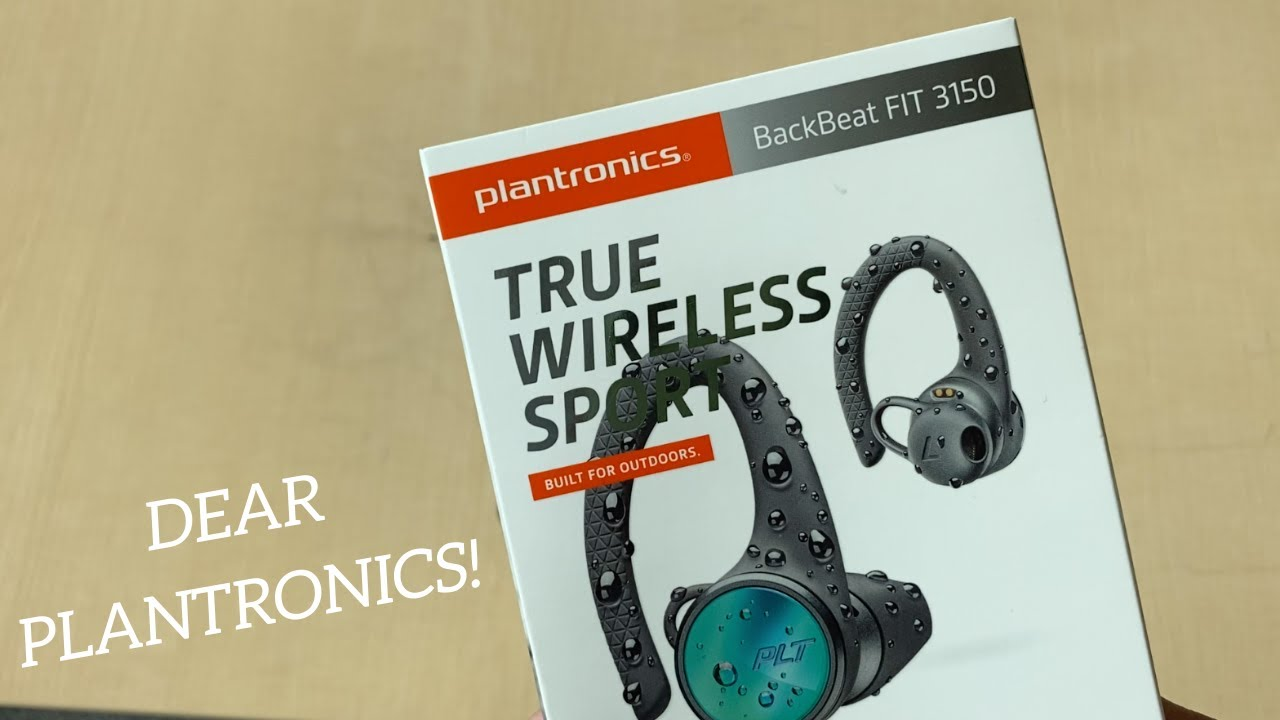 Plantronics Backbeat Fit 3150 Review And Mic Test Youtube