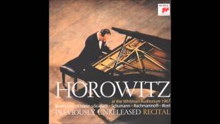 Vladimir Horowitz at the Withman Auditorium - 1967