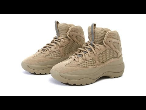 70c6f282c New YEEZY Season 6 Desert Rat Boot Silhouettes Revealed - YouTube