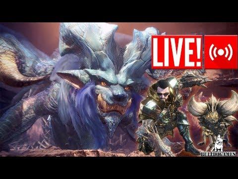 LIVE - Monster Hunter World - FARM BRUTO DE ADORNOS E RE! thumbnail