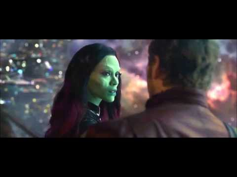 Guardians of the Galaxy - Peter and Gamora dance