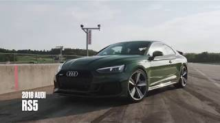 homepage tile video photo for Audi RS5 at Lightning Lap 2018