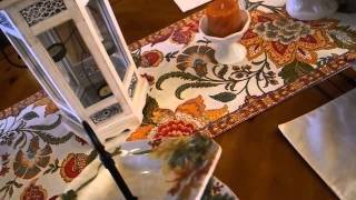 Fall Decor Home Tour 2015
