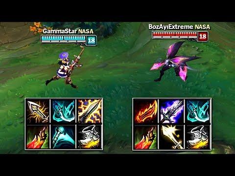 NEW CRIT CAIT vs ON-HIT KAI'SA FULL BUILD FIGHTS & Best Moments!