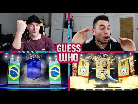 HUGE BRAZILIAN UCL WALKOUT  FIFA 19 Guess Who Packs