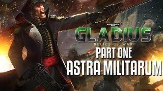 WH40K: Gladius - PART ONE: Astra Militarum, full game preview! GLORIOUS PURGING!