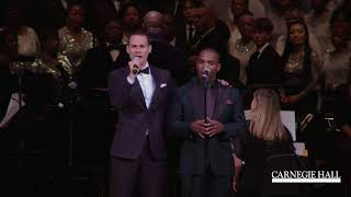 Azi Schwartz and Lawrence Brownlee at Carnegie Hall