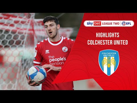 Crawley Town Colchester Goals And Highlights