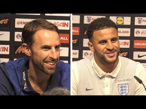 Gareth Southgate & Kyle Walker Full Pre-Match Press Conference - Malta v England - WC Qualifying