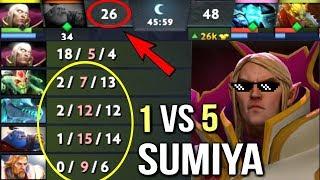 Impossible SumiYa Best Invoker Gameplay OMG Combo Tryhard Comeback WTF Dota 2