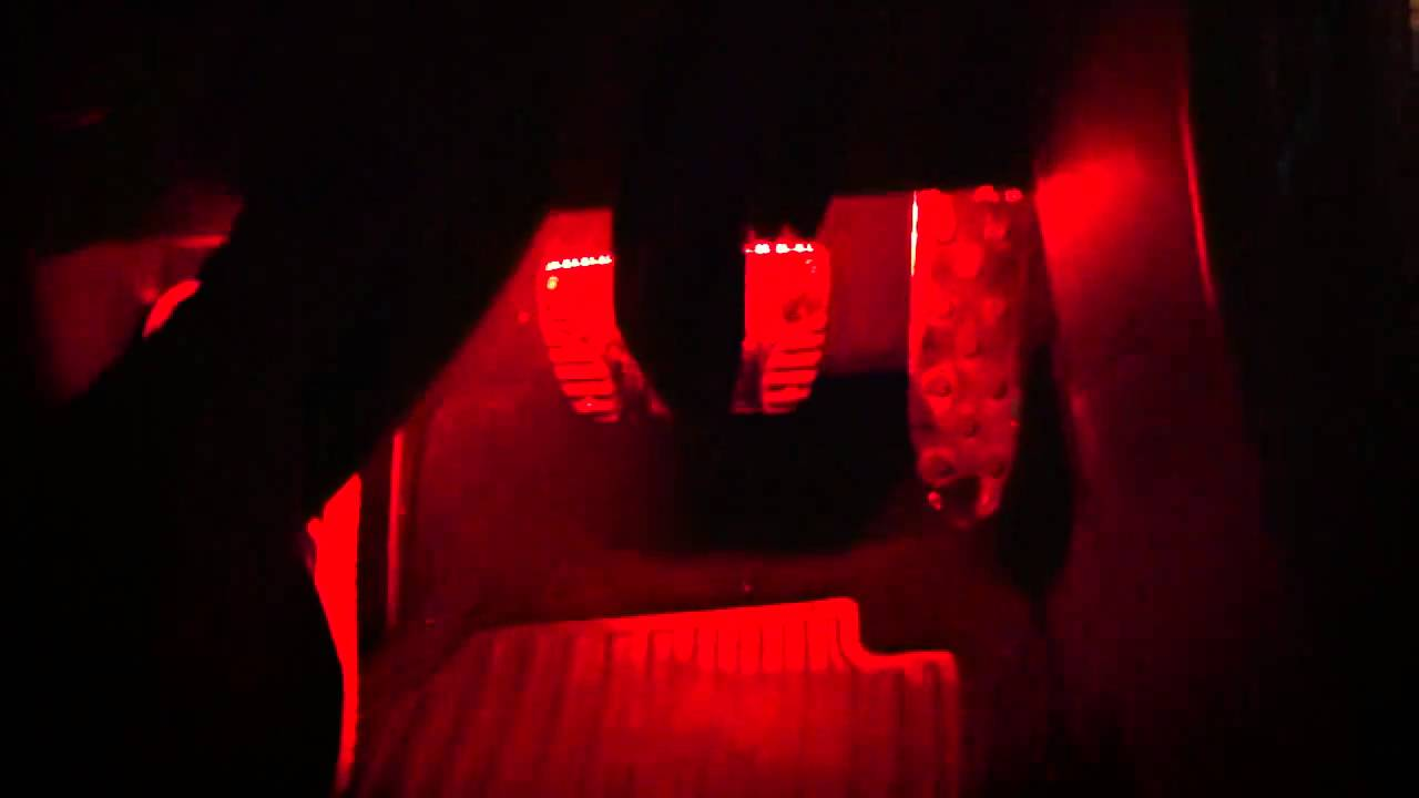 my scion tc 2010 red led lights underglow youtube