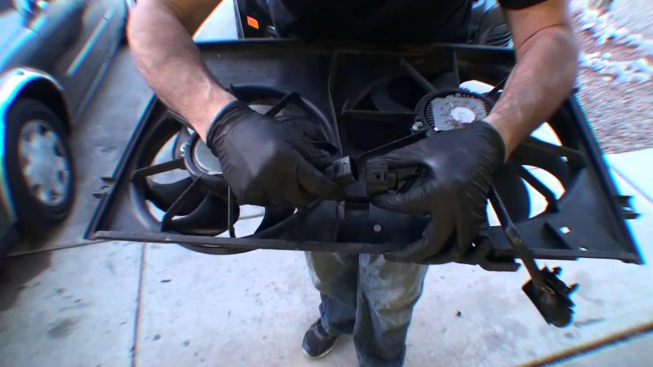 2006 VW Jetta TDI Accessory Fan Replacement  YouTube