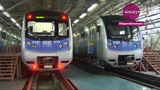 Масштабная дезинфекция в Алматы: как обрабатывают общественный транспорт (27.06.20)