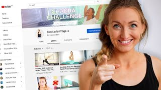How to Start a Yoga YouTube Channel and Teach Yoga Online