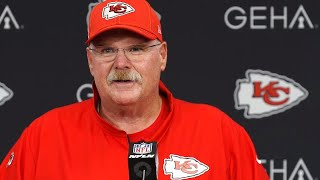 Chiefs' coach Andy Reid talks about fans, field crew, Frank's sack and Mahomes' plays