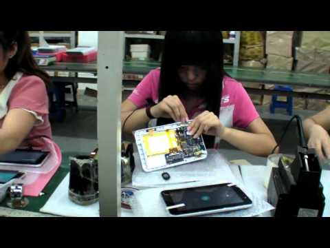 Tablet factory tour in china this is how your tablet is made