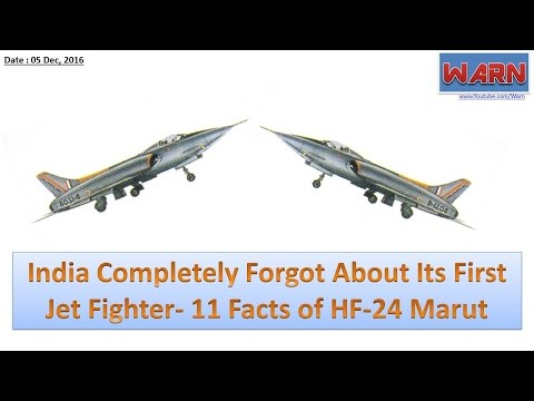 India Completely Forgot About Its First Jet Fighter- 11 Facts of HF-24 Marut