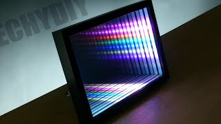 How to Make an Animated Infinity Mirror with a Few Hand Tools