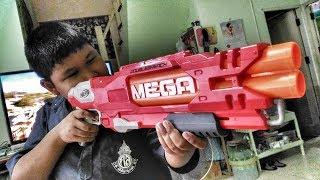 รีวิวปืน Nerf Mega Double breach