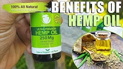 💯 Benefits of Hemp Oil for Pain Relief, Anxiety, Inflammation, more [TRY]