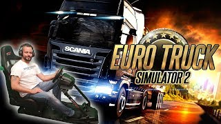 Euro Truck Sim 2 - Choosing a new truck and trailer