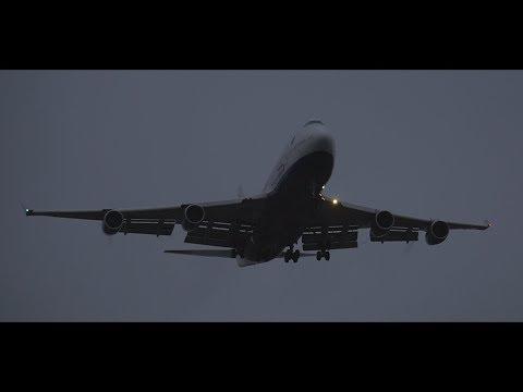 [HD] *Reverse Ops* British Airways Boeing 747-400 Landing at San Diego