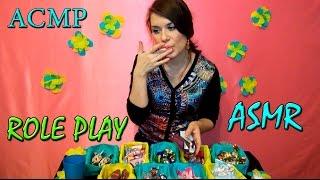 АСМР Видео - Продавец Конфет / ASMR Role Play - ASMR Eating Video