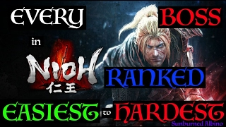 All Nioh Bosses Ranked Easiest to Hardest
