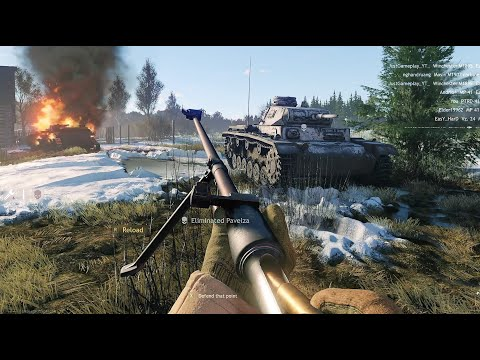 ENLISTED Gameplay - BATTLE FOR MOSCOW - CLOSED BETA TEST [1440p 60FPS]