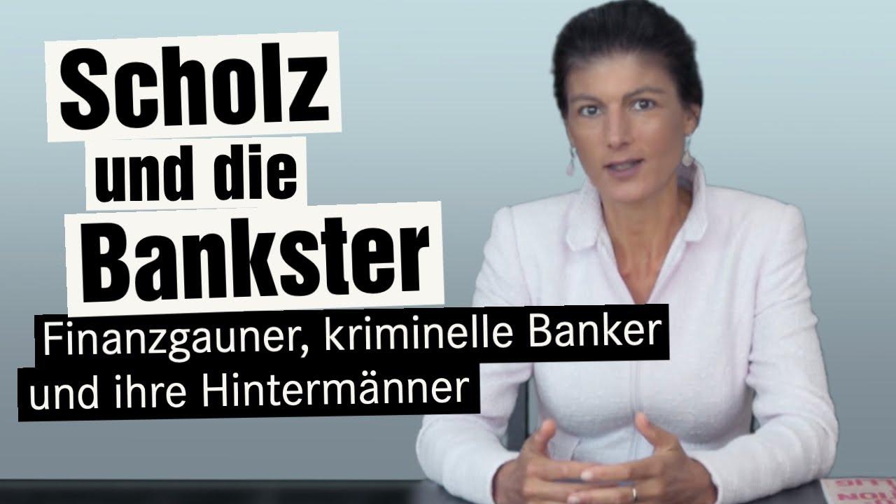 Finanzgauner, Bankster und ihre Hintermänner – am Beispiel Olaf Scholz