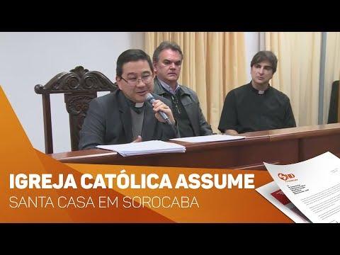 Igreja Católica assume gestão da Santa Casa em Sorocaba - TV SOROCABA/SBT