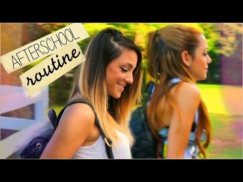 Thumbnail: Niki and Gabi's After-School Night Routine 2014 | Twin Edition