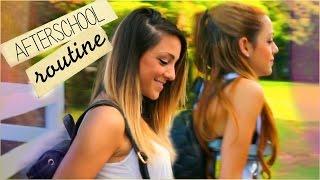 Niki and Gabi's After-School Night Routine 2014 | Twin Edition