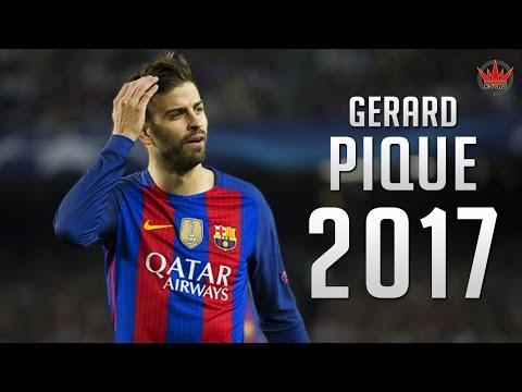 Gerard Pique ● The Barrier ● Crazy Defensive Skills 2016/2017 |HD