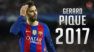 Gerard Pique ● The Barrier ● Crazy Defensive Skills 2016/2017 |HD