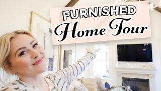 FULLY FURNISHED HOUSE TOUR!
