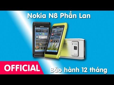 Điện thoại Nokia N8 chính hãng tồn kho - cách nhận biết chính hãng, nơi bán Nokia N8