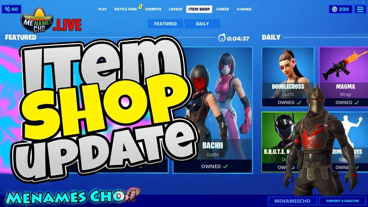 💥FORTNITE ITEM SHOP UPDATE 🔵 Countdown ⚡ LIVE - 12th August 2020 (Fortnite Battle Royale)