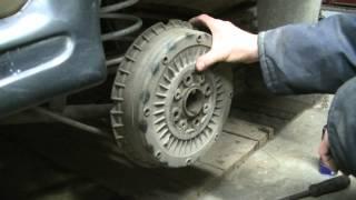 видео Как снять тормозные барабаны ваз 2107
