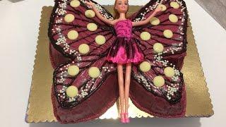 Kelebek Pasta Yapımı-Butterfly Cake Making