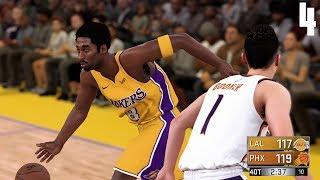 NBA 2K18 Kobe Bryant MyCareer #4   Quadruple Overtime  