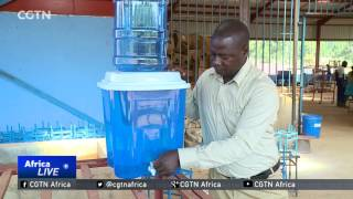 Ceramic filters make drinking water safe for community