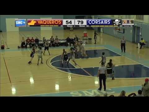 Santa Monica College Women's Basketball vs Glendale C.C. - February 7, 2015  (Full Game)